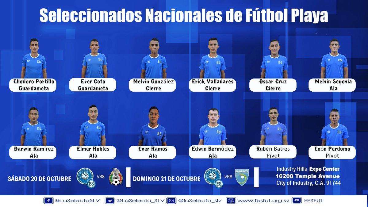 Juego amistosos 20 y 21 de octubre del 2018. El Salvador vs Mexico y Guatemala. [2-4 y 6-4] DpuwYX5XoAE_x8N
