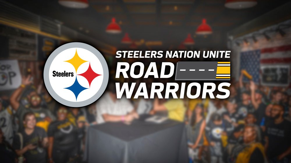 Our next Road Warrior Block Party comes your way in Week 11! Join us in Jacksonville for a party with former Steelers Merril Hoge & Santonio Holmes! MORE INFO ≫ stele.rs/xoLiYU