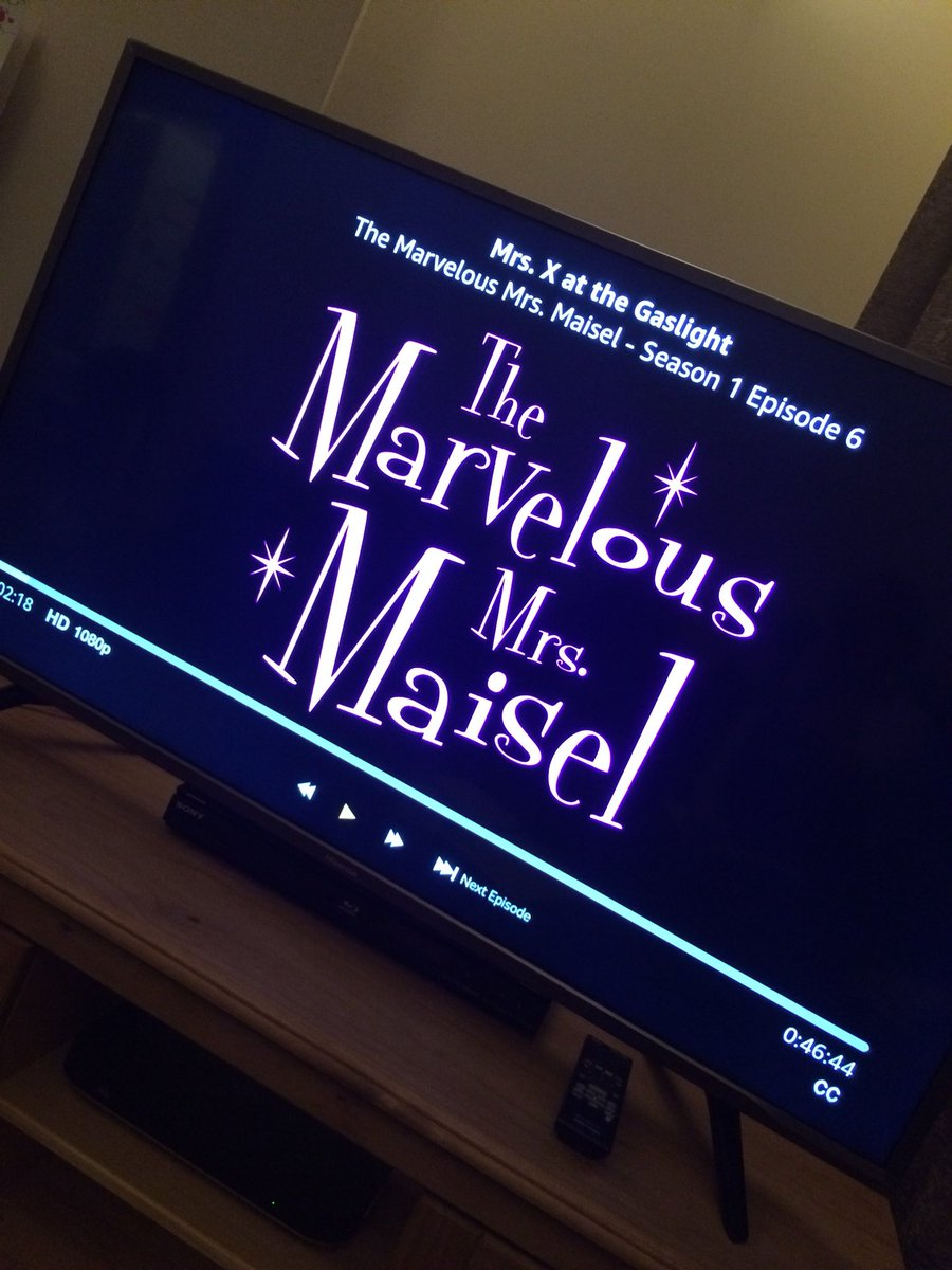 I heart this show. And it's soundtrack is just delicious. #marvelousmrsmaisel <br>http://pic.twitter.com/iaJaElaGRp