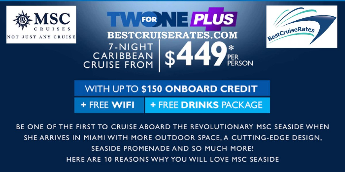 Best Cruise Rates on Twitter: