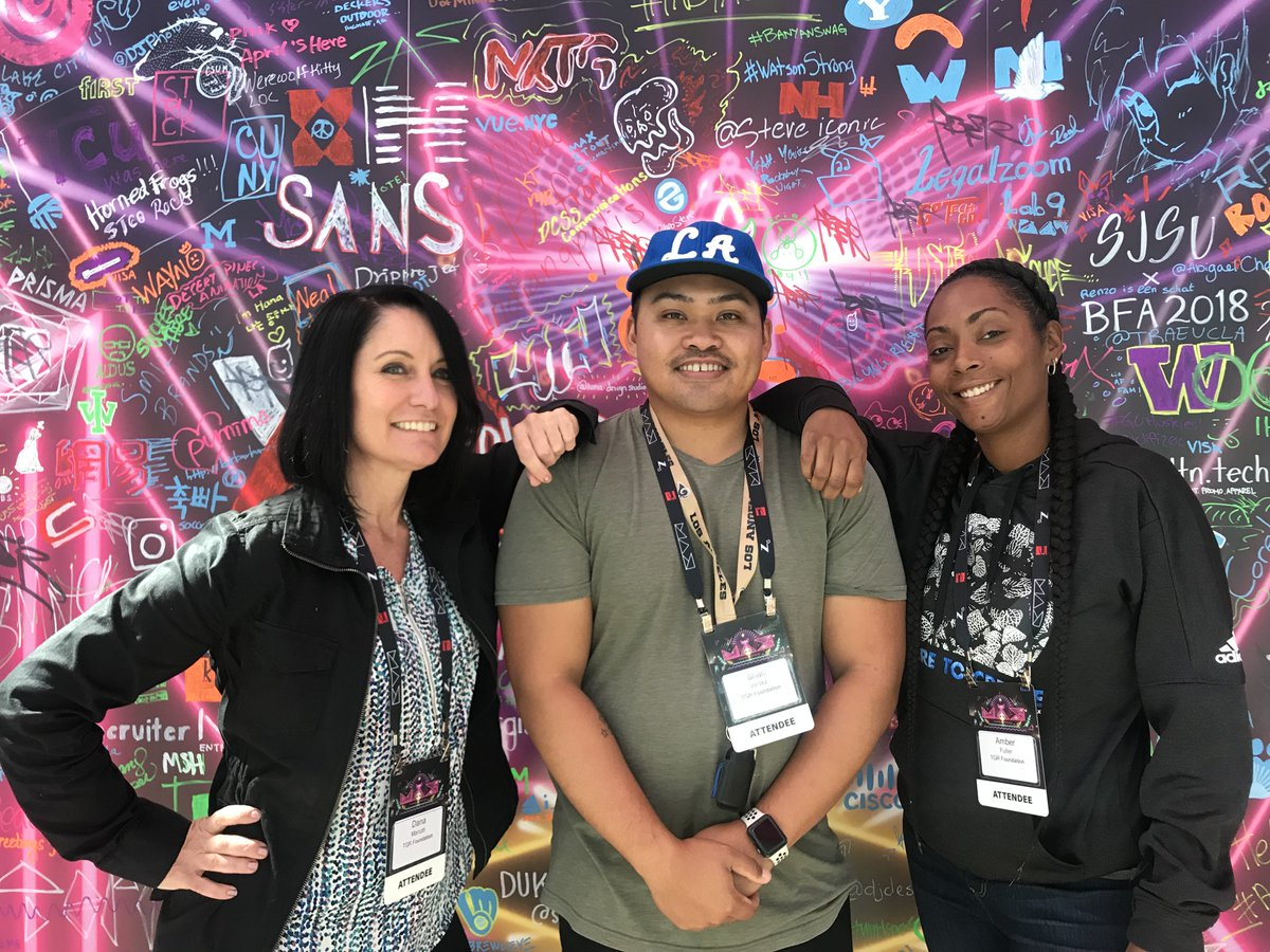 Joining creatives around the globe, members of our team traveled to Los Angeles for the @adobemax conference to gain skills and best practices to continue telling our story visually through graphic design and digital media. #TGRFoundation #AdobeMAX #TGRLife