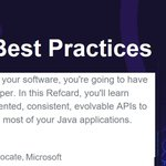 Image for the Tweet beginning: Java API Best Practices -