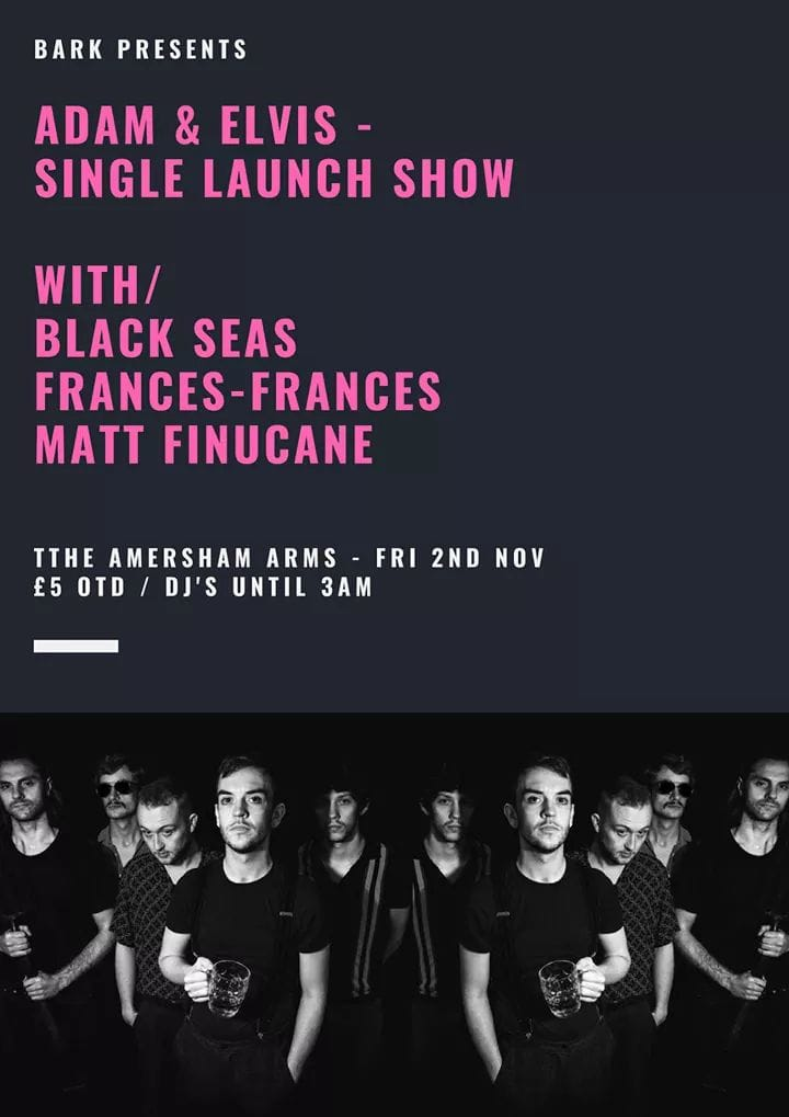 test Twitter Media - @TheAmershamArms 2nd November #newcross #livemusic #alternative #Rock #london #punk #alcohol #nuwavehippy #postpunk #freakpower https://t.co/DvCmuiWW8N