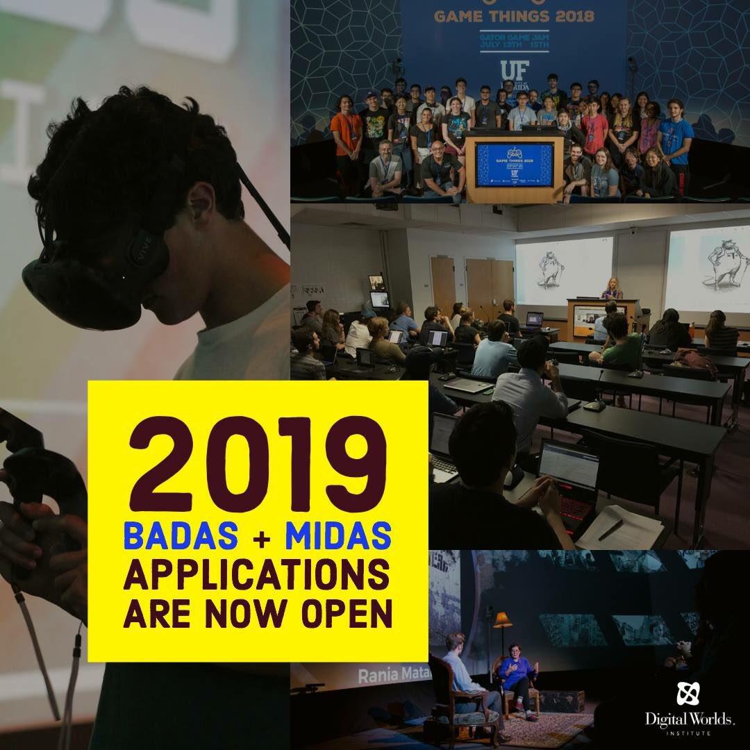 Uf Application Deadline >> Uf Digital Worlds On Twitter Badas Midas Applications