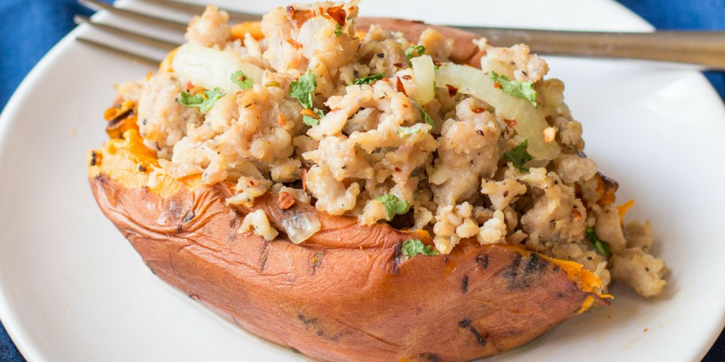 A #onepot #dinner for the win! Italian Turkey Stuffed Sweet Potatoes #instantpot #paleo  https://t.co/cWJAP72zWr https://t.co/DeZQxa8RJz