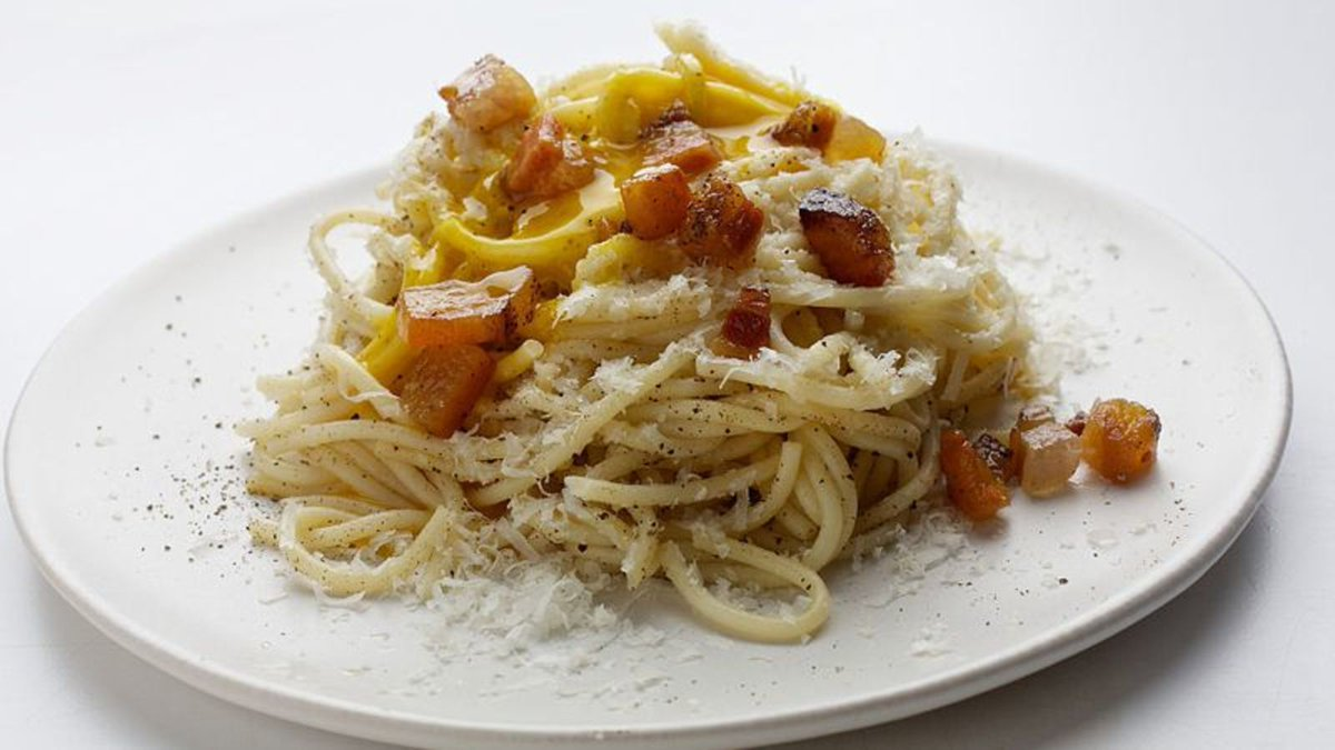 It's #NationalPastaDay, so let's all learn how to make exemplary spaghetti carbonara trib.al/6Tq5j3d