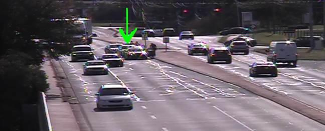 Accident in SW #CLT on inbound S. Tryon St @ I-485.   #clttraffic <br>http://pic.twitter.com/J5Jhbk4gKP
