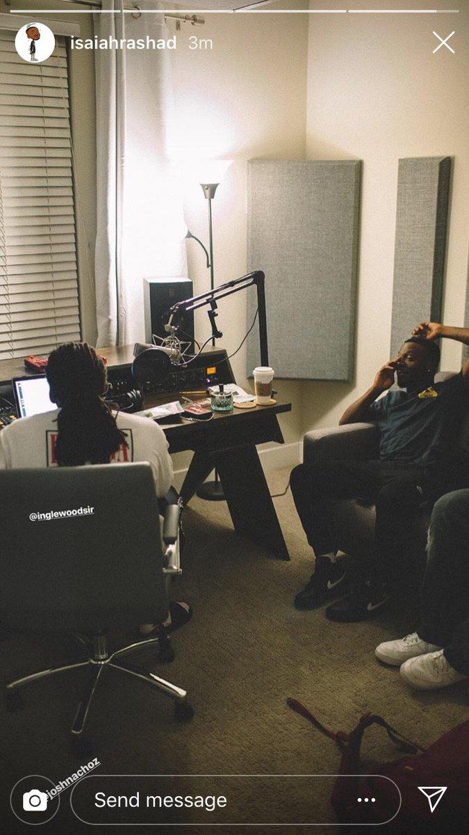 SiR x Isaiah Rashad In The Studio...  <br>http://pic.twitter.com/CARySJpQ0e