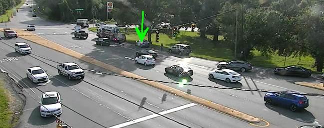 Accident in west #CLT on SB Billy Graham Pkwy @ Scott Futrell Dr.  #clttraffic <br>http://pic.twitter.com/an5dZYESx8