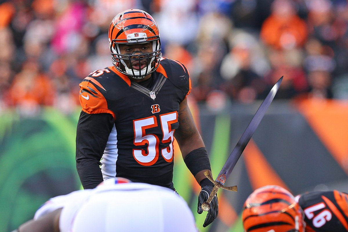 "The NFL is investigating Vontaze Burfict for several hits vs. Pittsburgh to see if they were malicious in nature.    &quot;I&#39;m very disappointed in myself,"" Burfict said. &quot;I thought I could seriously injure 3 or 4 Steelers. I thought for sure I&#39;d at least end someone's career.&quot; <br>http://pic.twitter.com/iyr6TCQo8Y"