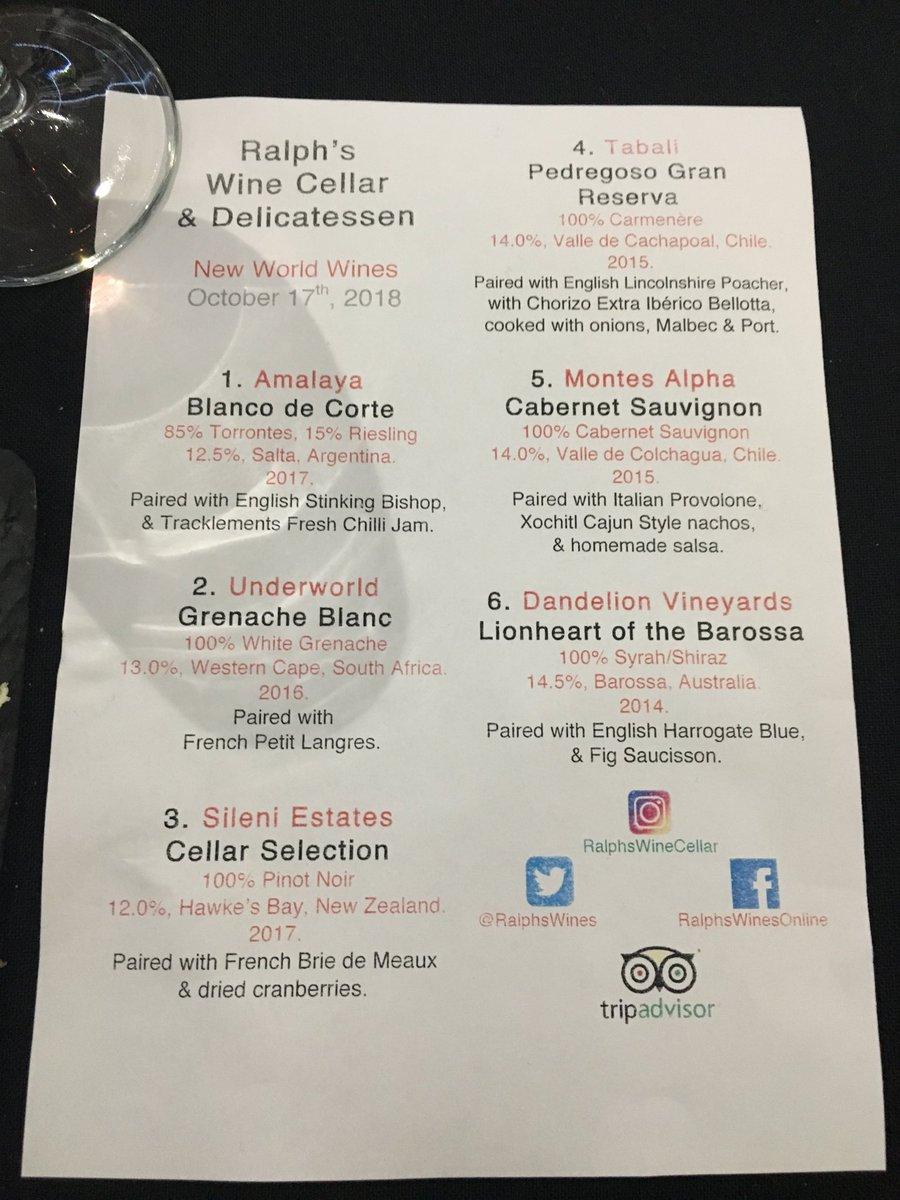 Ralph\'s Wine Cellar (@RalphsWines) | Twitter