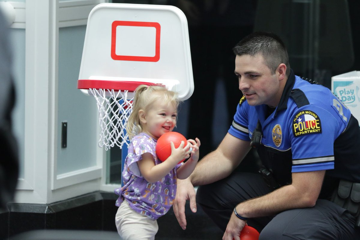 """Flower Mound PD on Twitter: """"We had such a great time at Cook Children's Medical Center """"State Fair"""" carnival event, where we were able to give 50 long term ..."""