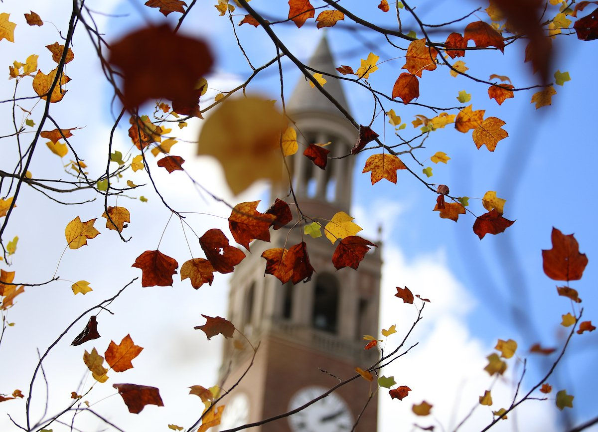 You better be-🍁 we'll miss you. Have a great fall break, Tar Heels! https://t.co/8abzqqjZtt
