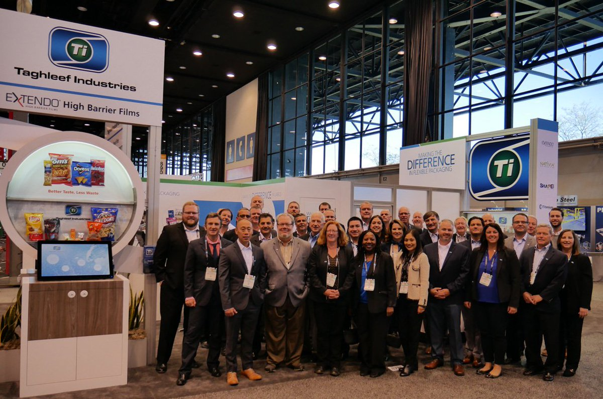 Thank you to everyone at @packexposhow for the great show! We hope you had an interesting time and got the chance to talk to our team about all the innovative solutions on display. #TiExperience