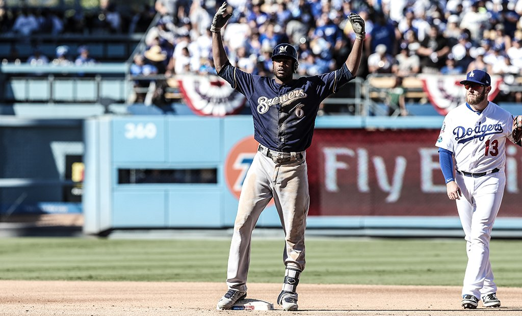 LoCain comes through for the @Brewers. #NLCS https://t.co/EcZuwEDOZ3