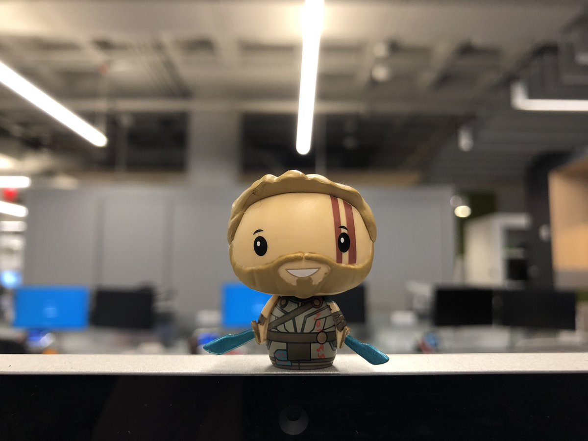 Thor is taking over my office! #PSHHappyHour @OriginalFunko