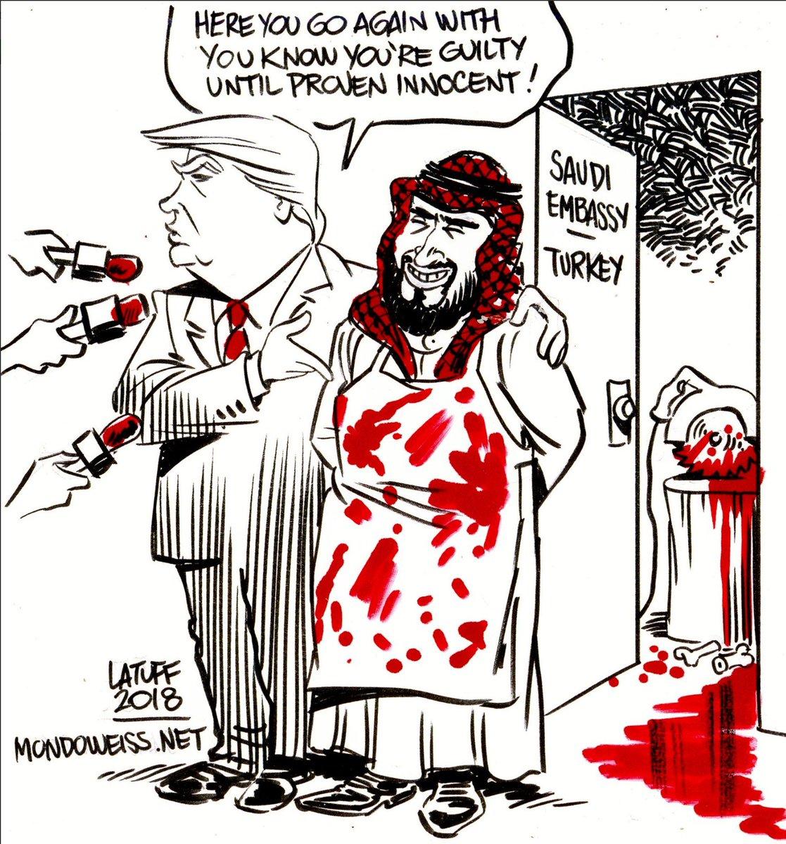 #Khashoogi     x      Latuff  #FelizJueves #Filosofía #ReferéndumParaLaRepública #Portada #Portadas #EnPortada<br>http://pic.twitter.com/FHTz7Ht9Uw