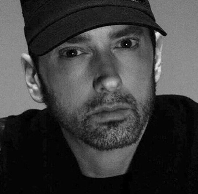 Today is this nigga Eminem birthday. 46 today. Wish this nigga a happy ass birthday today.