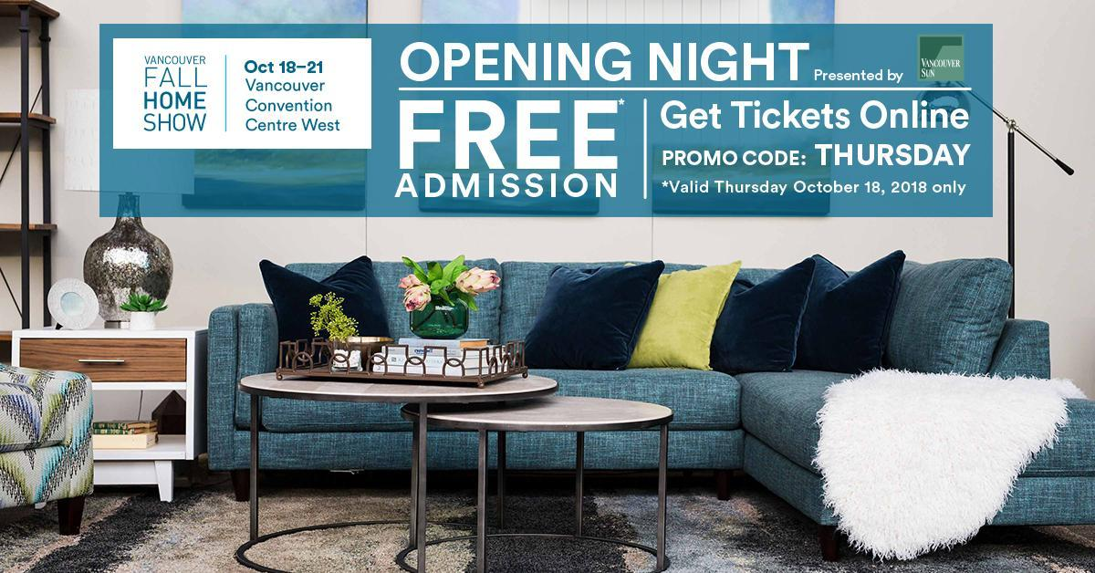 ... By Vancouver Sun U0026 Receive FREE Admission! Show Begins At 4PM. Offer  Valid Only On October 18. Get Your Tickets Online   Https://bit.ly/2A09NPY  ...