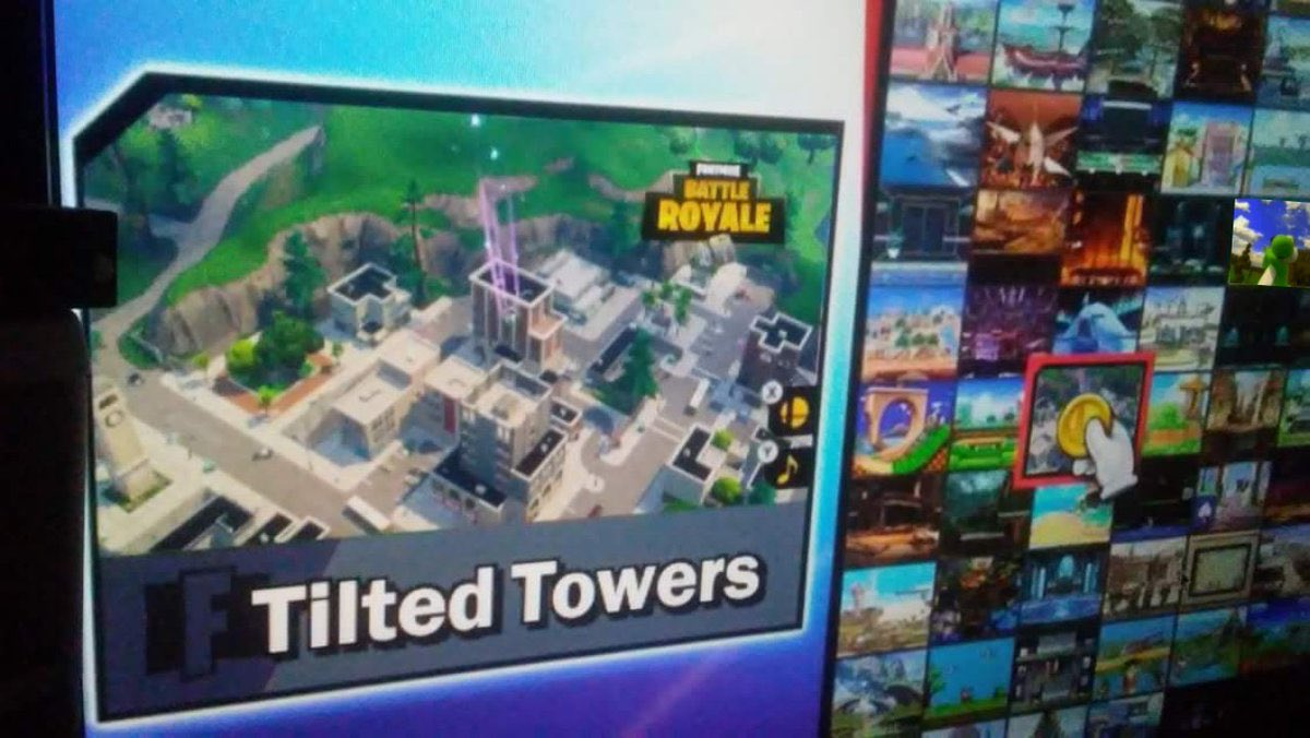 If this ends up being real...   Tilted Tower in the new Smash bros Ultimate!?  <br>http://pic.twitter.com/h8uXtjYXqo