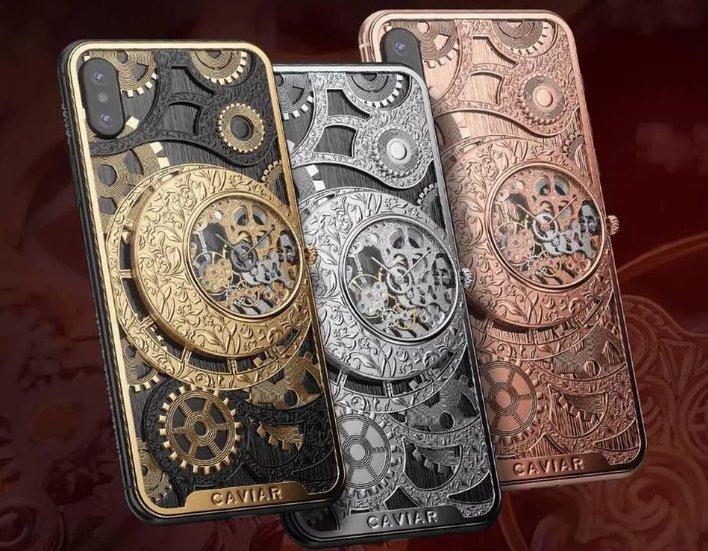 Si te gustan las cosas mecánicas y antiguas, o simplemente eres fanático del movimiento #Steampunk, estos cases de Caviar para #iPhoneXS y XS Max son para ti. Eso sí, prepara el bolsillo, porque el más barato vale US$6,490 https://t.co/MSjDVnGeJf #ViaTec
