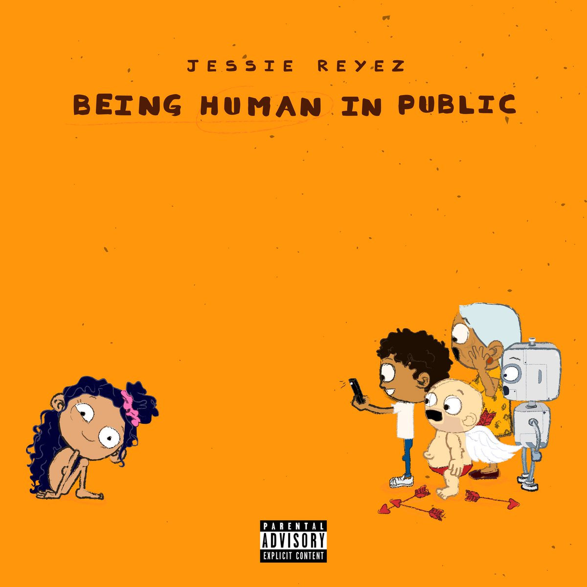 &#39;Being Human in Public&#39; EP complete this Friday, Oct 19th .  1. Saint Nobody (brand fucking NEW song) 2. Apple Juice 3. Sola 4. F*** Being Friends 5. Dear Yessie 6. Imported ft. JRM 7. Body Count Remix ft. Normani &amp; Kehlani <br>http://pic.twitter.com/ilCzPFa0bL