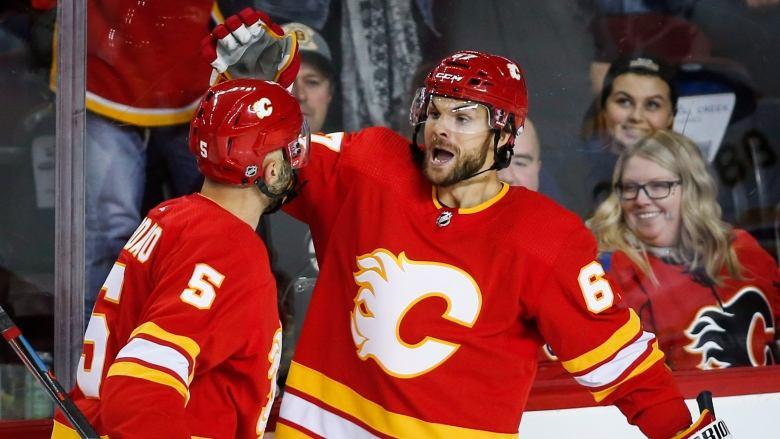 Frolik scores pair as Flames roll over Bruins. https://t.co/QbxLKo3LFA