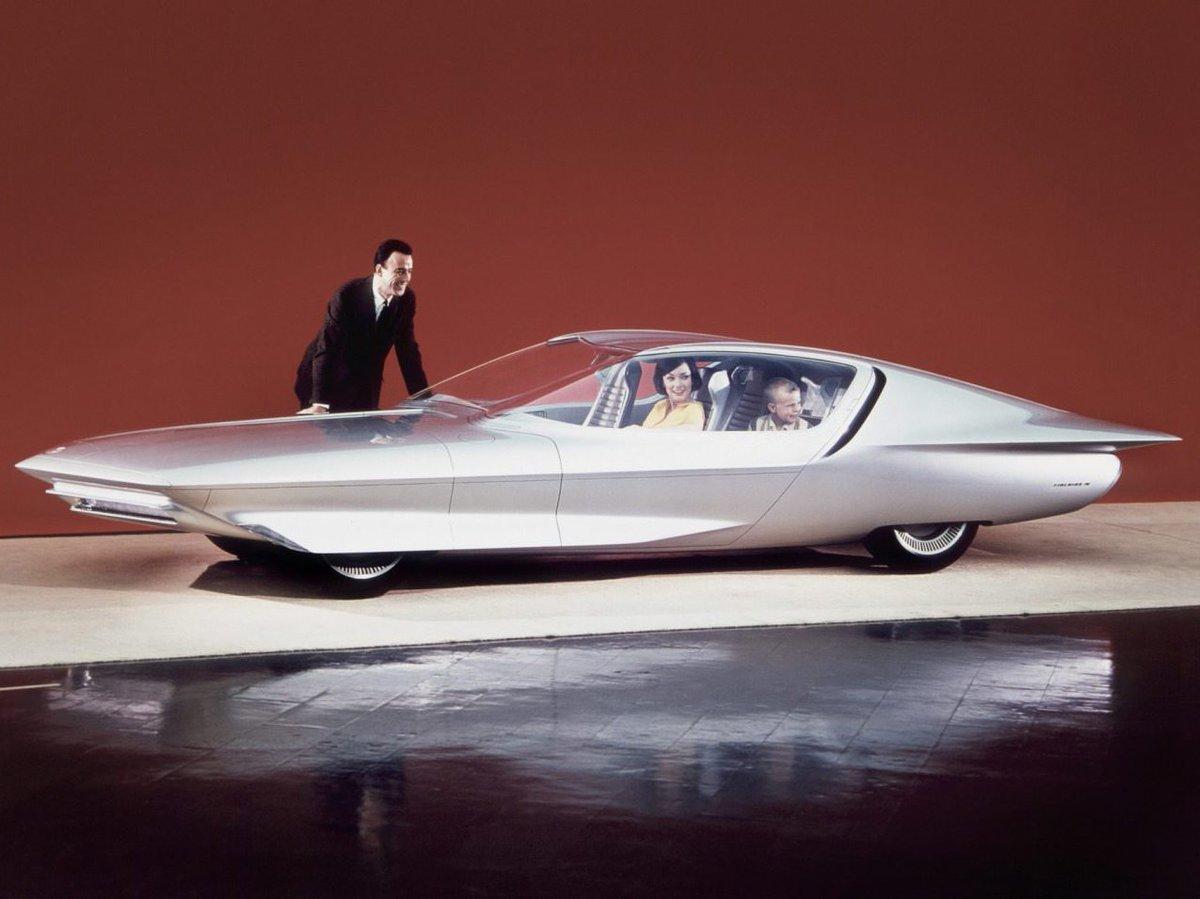 GM's Firebird IV concept car, 1964.