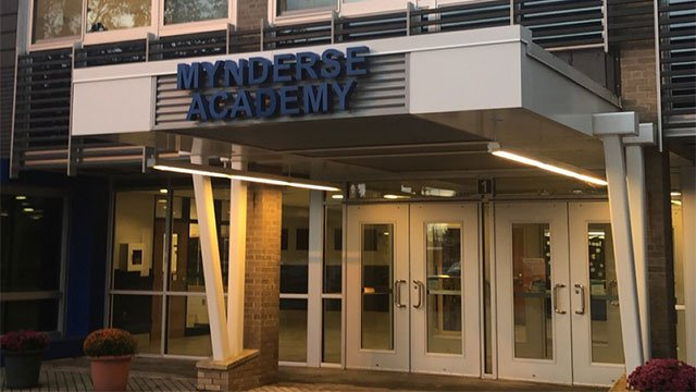 School officials and law enforcement investigate threat made by student at Mynderse Academy