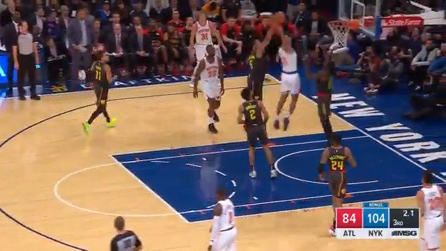Image for the Tweet beginning: ALLONZO. TRIER. WITH. AUTHORITY! 🛫💥😱  #NewYorkForever