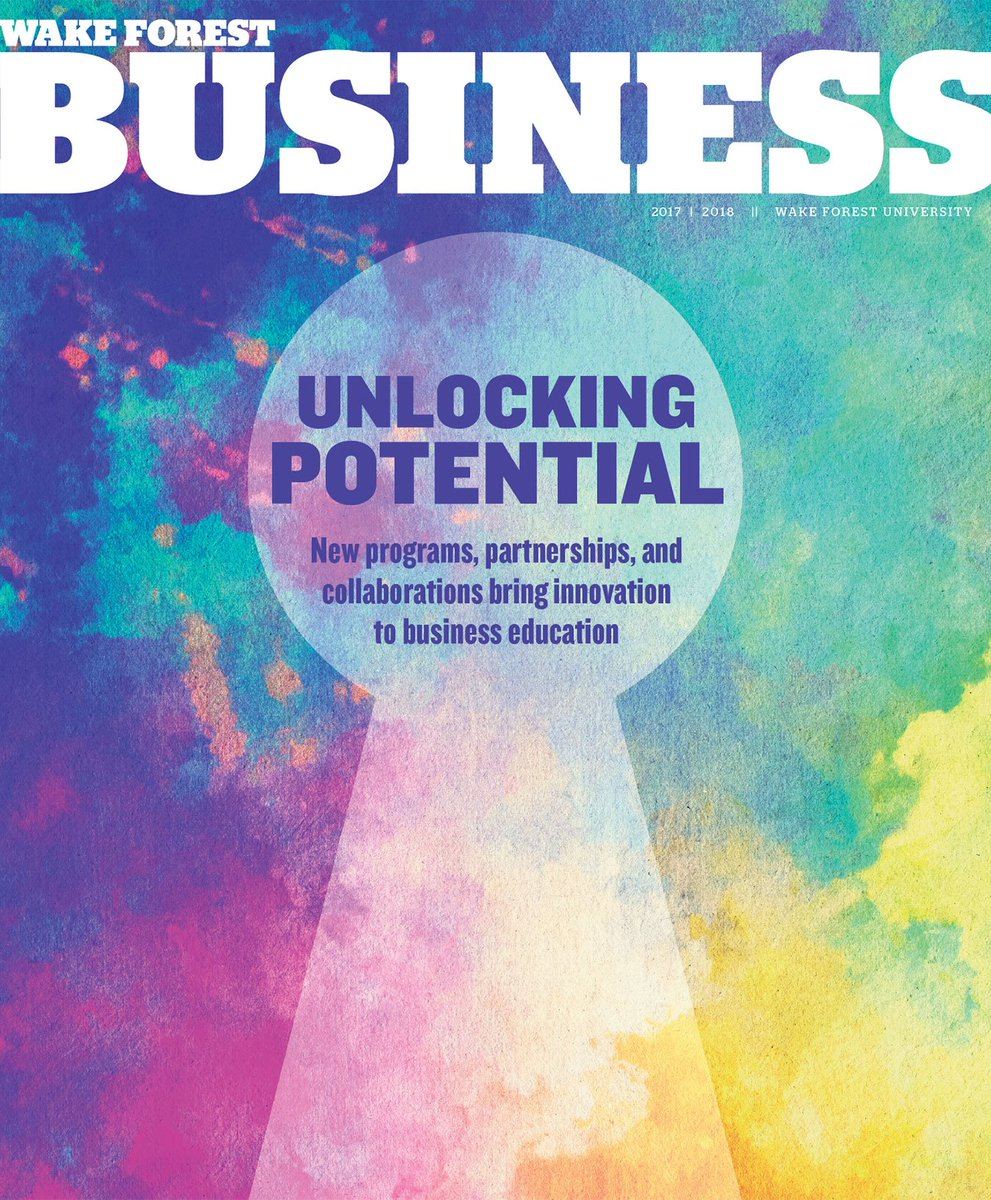 Did you get your copy of @WakeForestBiz in your mailbox? You can also read it online now! https://t.co/sRbPqCAoU4