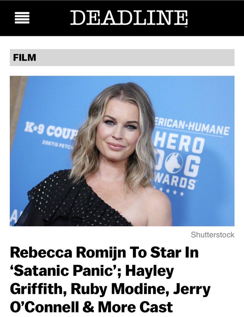 Hot Twitter Rebecca Romijn naked photo 2017