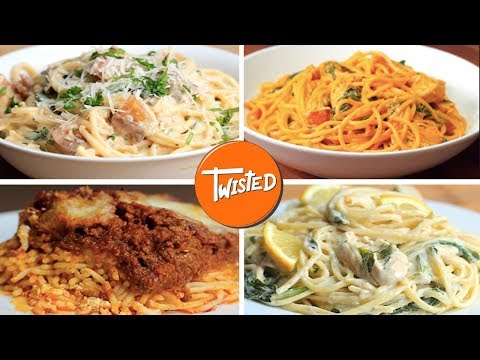 How To Make Spaghetti 12 Ways  | Creamy Pasta Recipes | Weeknight Dinners | Twisted https://t.co/XWFhYalDzC https://t.co/C5twzPtPMH