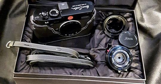 ARA ABİ... Leica, onun imzası ile özel seri üretmişti. 📷
