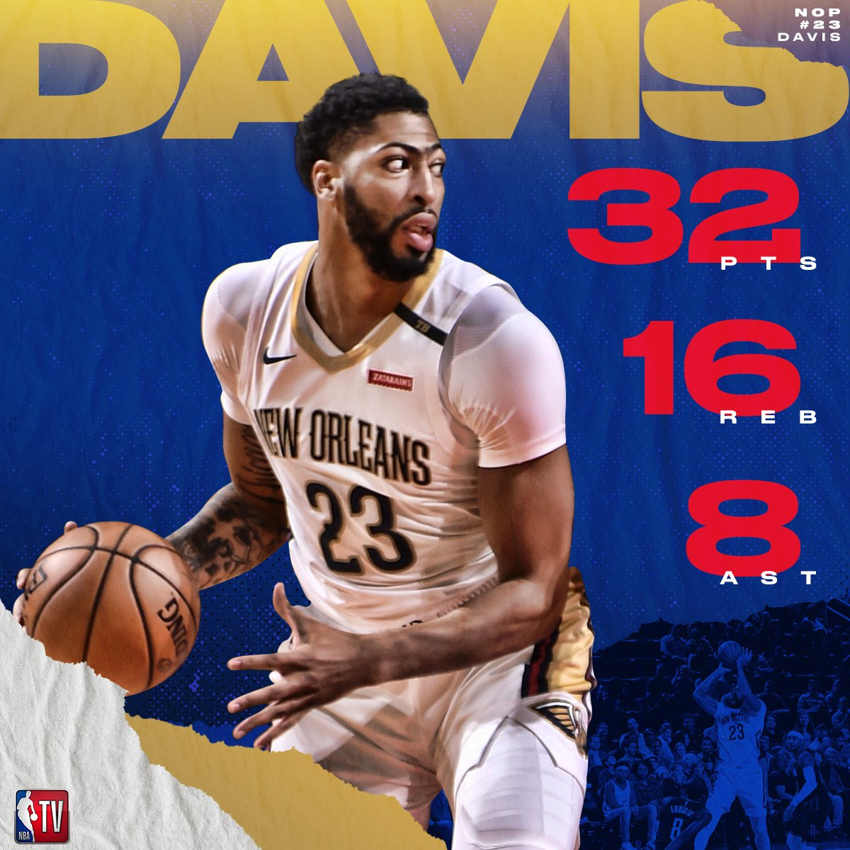 AD hasn't skipped a beat. 👀 #DoItBig
