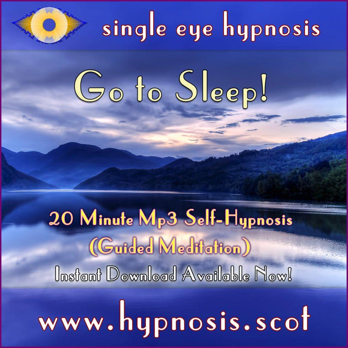 hypnosisforsleep hashtag on Twitter