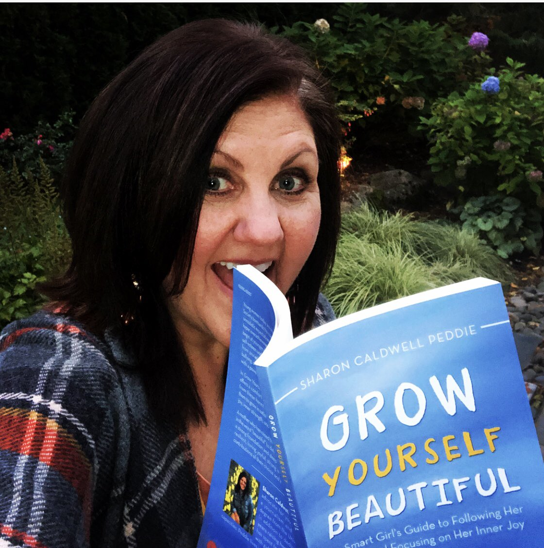 My #book #growyourselfbeautiful is here! My book will help #empower #youngwomen to follow their #heart and #grow their #innerjoy and #selflove-moving focus from today's pressures that cause them so much #stress Book Available now: #iuniverse #amazon #barnesandnoble