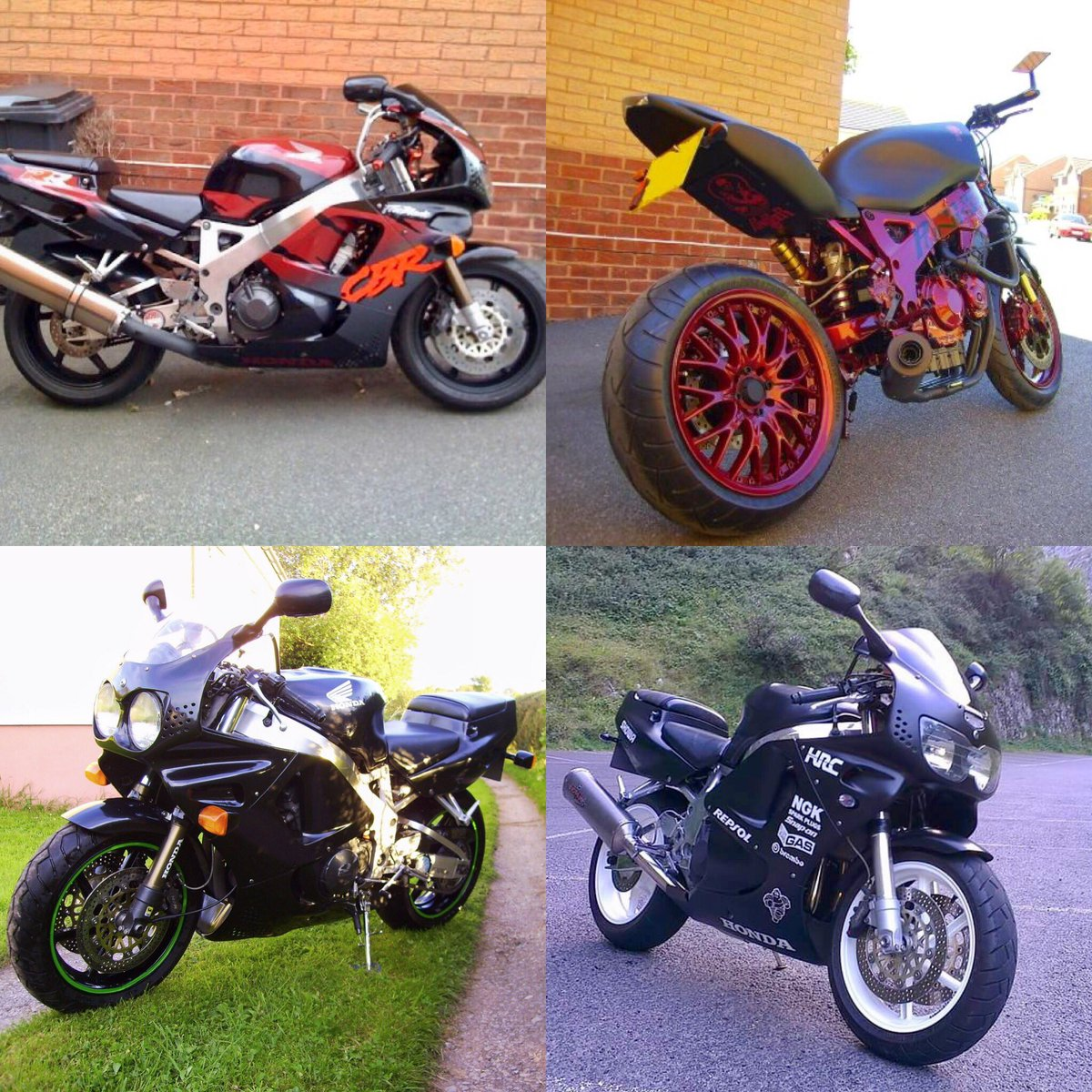 I think it's fair to say I really like Fireblades. I've had quite a few over the years. I think about 8, I don't have pictures of all of them..  <br>http://pic.twitter.com/TV1rEfXZMX