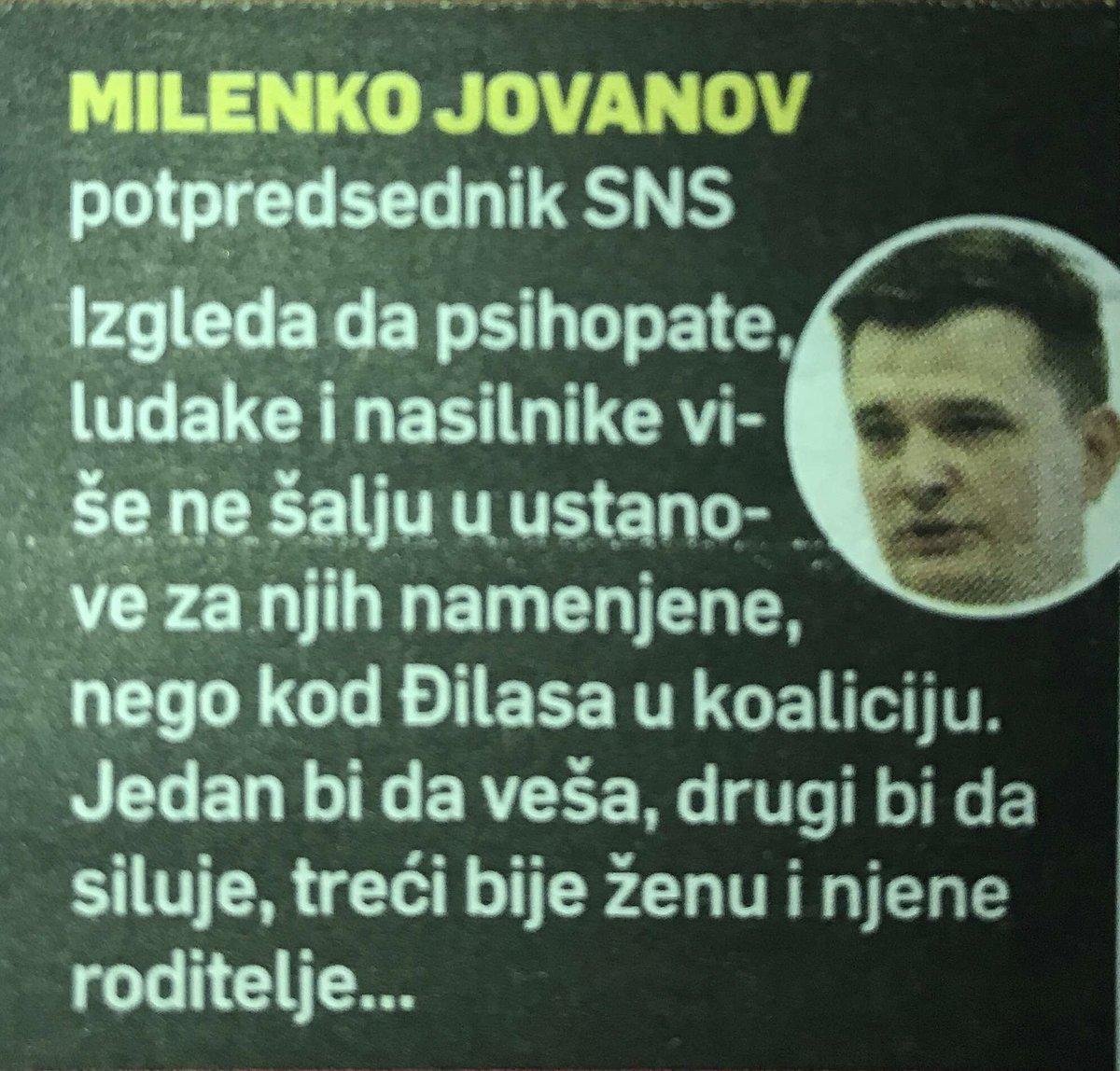 Изјава за @Srpski_Telegraf