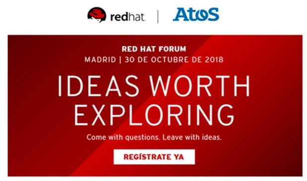 El 30 de noviembre en #RedHatForumES, presentamos AMOS, la plataforma gestionada de cloud...