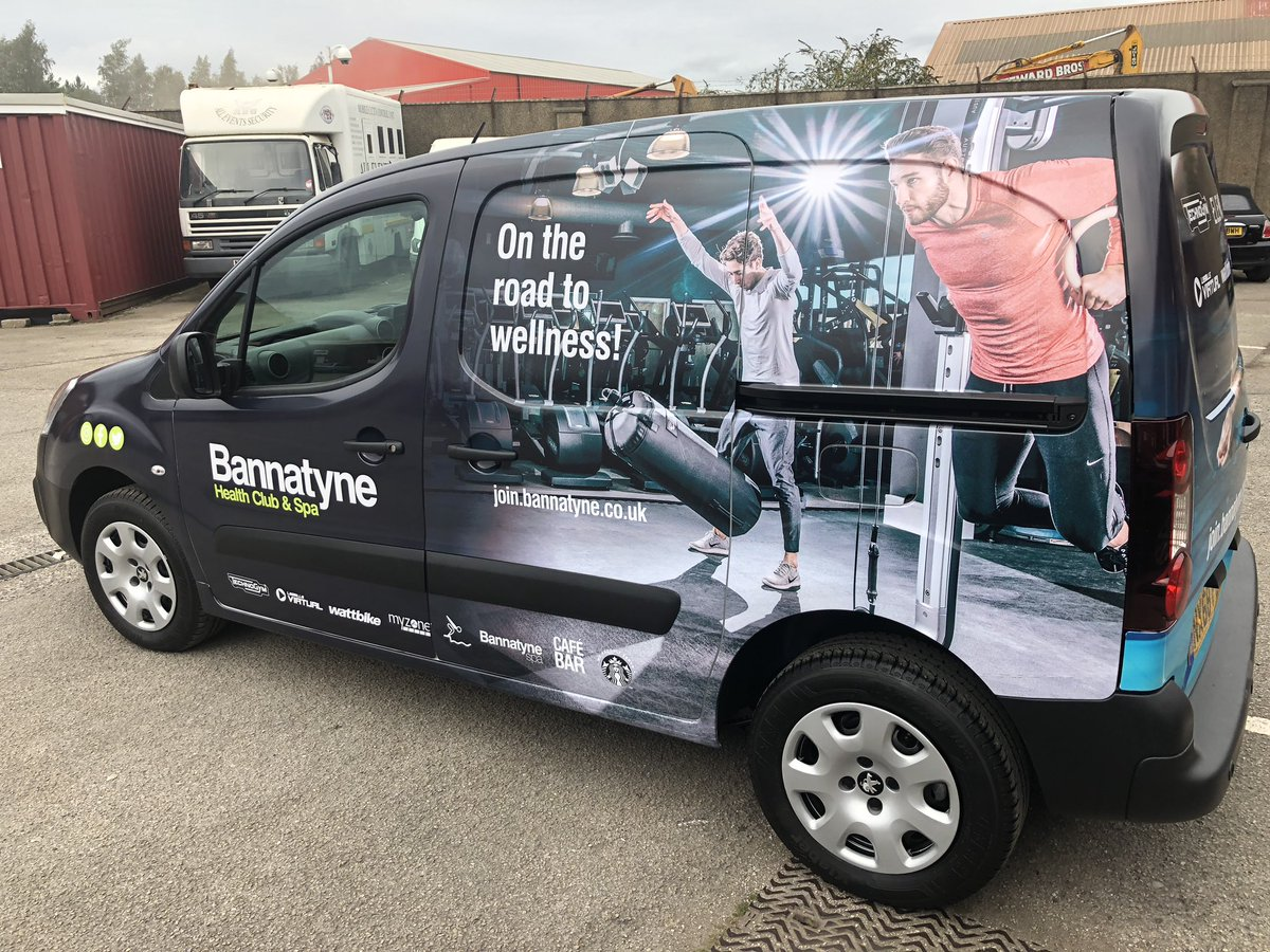 RT @ScreentechNE: Full colour van wrap done for @Bannatyne https://t.co/1YP07PcAxg