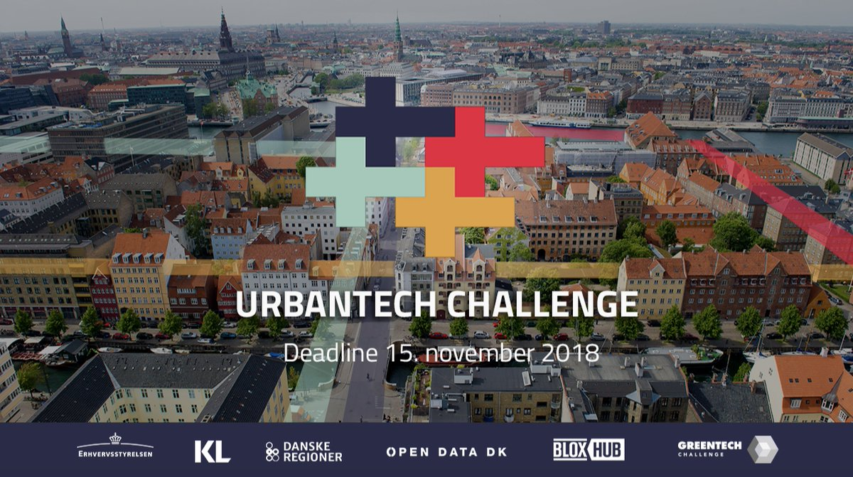 Can you make cities more connected, livable and effective with open data? Take up the UrbanTech Challenge!Prizes for 125.000 DKK + special BLOXHUB-prize https://t.co/sRLMSyyrT6Workshops start 22. Oct. Get prof help and dive into government data: https://t.co/HkkxnXAFMv