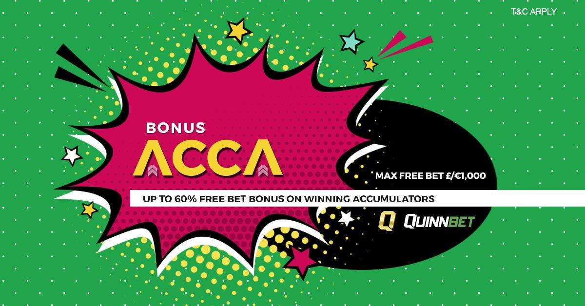 quinnbet bonus acca