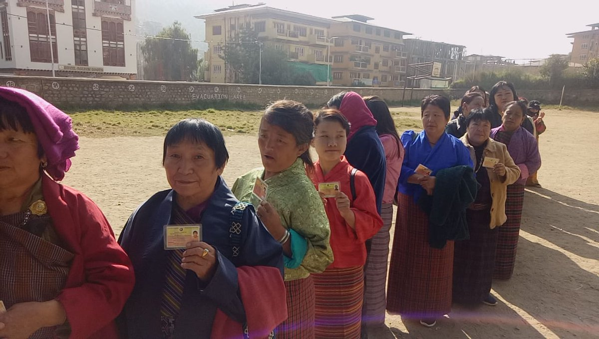 Bhutan votes in the country's third general polls