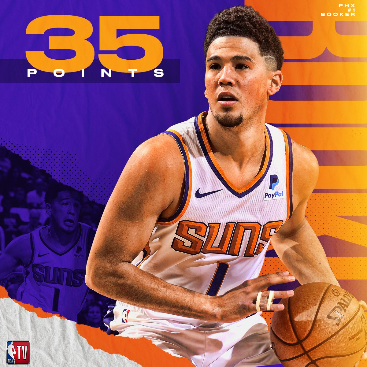 Devin Booker looked just fine in the Suns' opener! 🔥 #TimeToRise