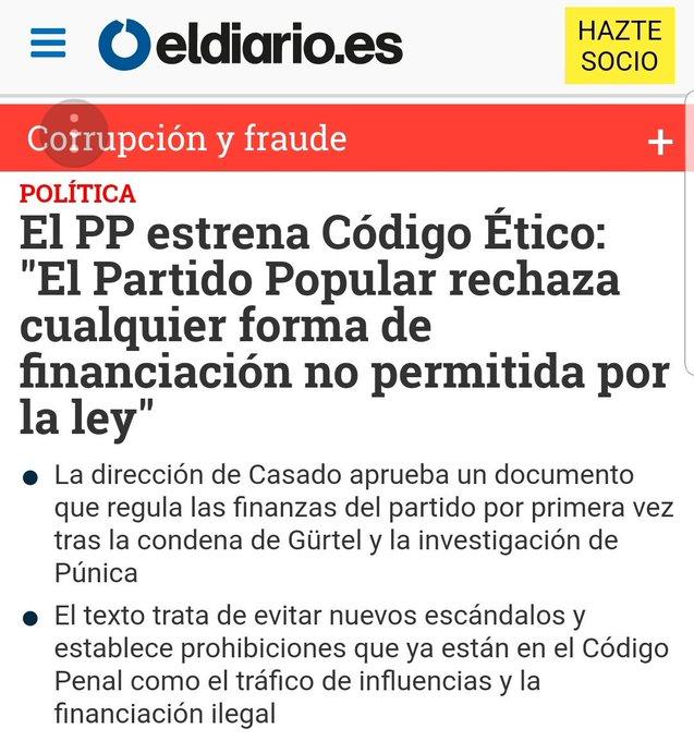🤣🤣🤣🤣🤣🤣🤣🤣 El Partido Popular 🤣🤣🤣🤣🤣🤣🤣🤣 presenta 🤣🤣🤣🤣🤣🤣😂😂 su nuevo código ético 🤣🤣🤣🤣🤣🤣🤣🤣🤣🤣🤣🤣🤣🤣🤣🤣🤣🤣🤣🤣🤣🤣🤣🤣🤣🤣🤣🤣🤣🤣🤣🤣🤣🤣🤣🤣🤣🤣🤣🤣🤣🤣🤣🤣🤣🤣🤣🤣🤣🤣 #FelizJueves Foto