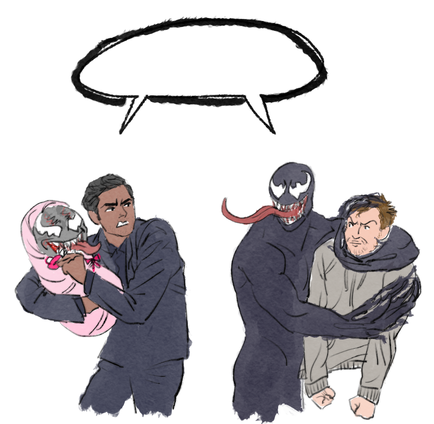 DoN'T eVEr TalK to mE Or my sOn EVer aGaIN 내새끼 건들면 국물도 없을 줄 알아 #venom #symbrock #veddie