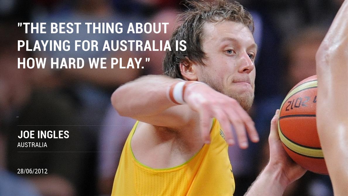 🏀🇦🇺 @Joeingles7s #ThursdayThoughts 💬 🔙 2⃣0⃣1⃣2⃣ @BasketballAus #tbt #GoBoomers #FIBAAsiaCup 📷 from the 2012 London @Olympics