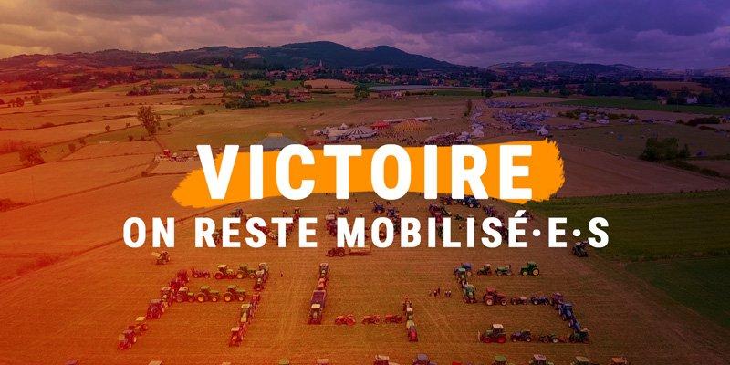 ➡️ Juil 2016 : financements votés, #A45 sur les rails  ➡️ Sept 2016 & Juil 2017 : grosses mobilisations citoyennes (jusqu'à 10 000 personnes - 130 tracteurs)  ➡️ Fév 2018 : rapport   pa#Durons prioritaire car pas de consensus  ➡️ Oct 2018 : Abandon & Victoire de @NoPasarA45