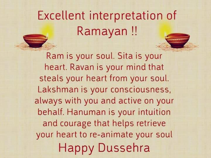 T 2167 - A beautiful interpretation of the Ramayan  .. Happy Dashera ���� https://t.co/7Zm1XRwlJn